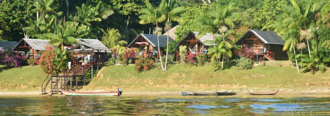 Suriname, Danpaati  River Lodge