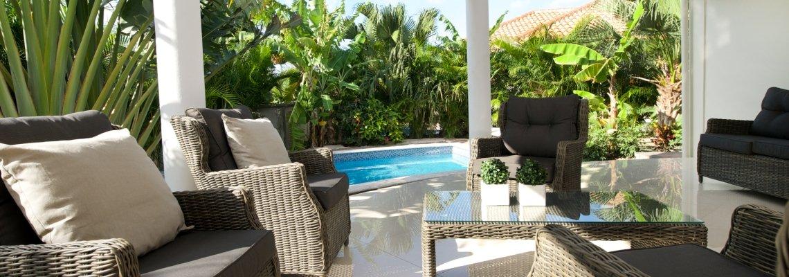 Curaçao, Acoya, privé zwembad bij de 4-kamer Villa