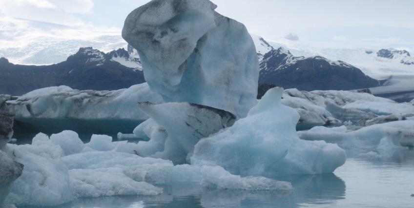 Zeecruise IJsland ijsschotsen