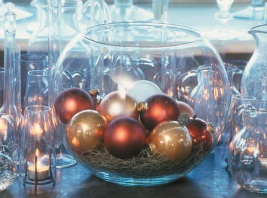 Kerst sfeer algemeen kerstballen