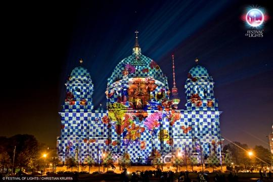 Duitsland - Berlijn - Festival of Lights - Berliner Dom
