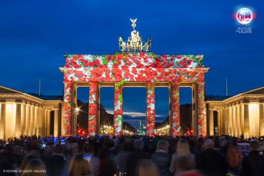 Duitsland - Berlijn - Festival of Lights - Brandenburger Tor