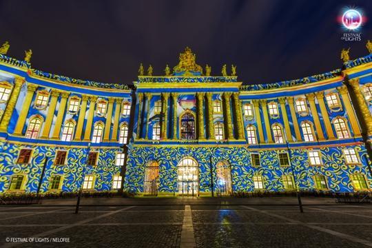 Duitsland - Berlijn - Festival of Lights - Juridische faculteit