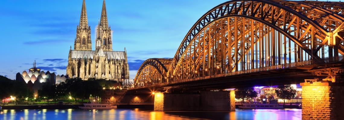 Keulen brug Duitsland