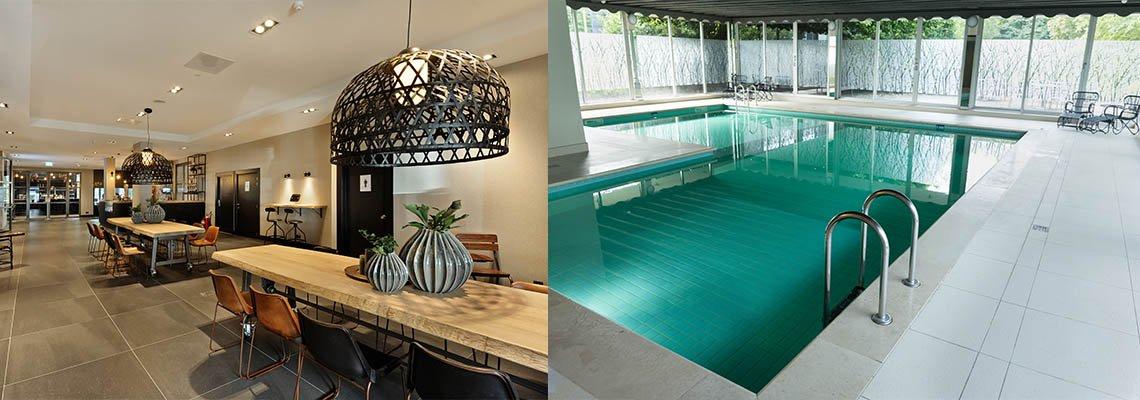 Van der Valk Antwerpen zwembad