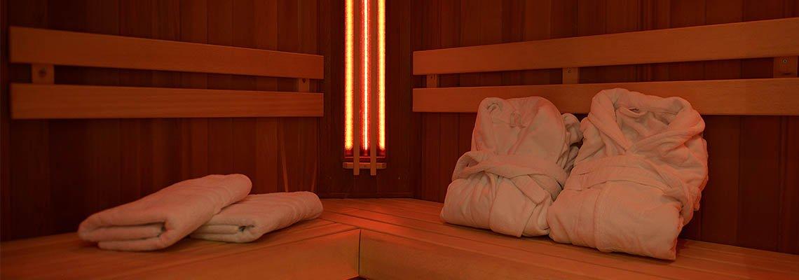 Swiss Tiara sauna