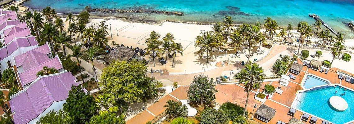 Plaza_Beach_Resort_Bonaire_overzicht