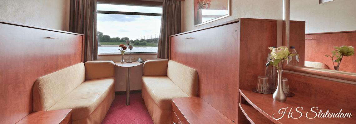 Feenstra Rijnlijn - Hotelschip Statendam foto 3