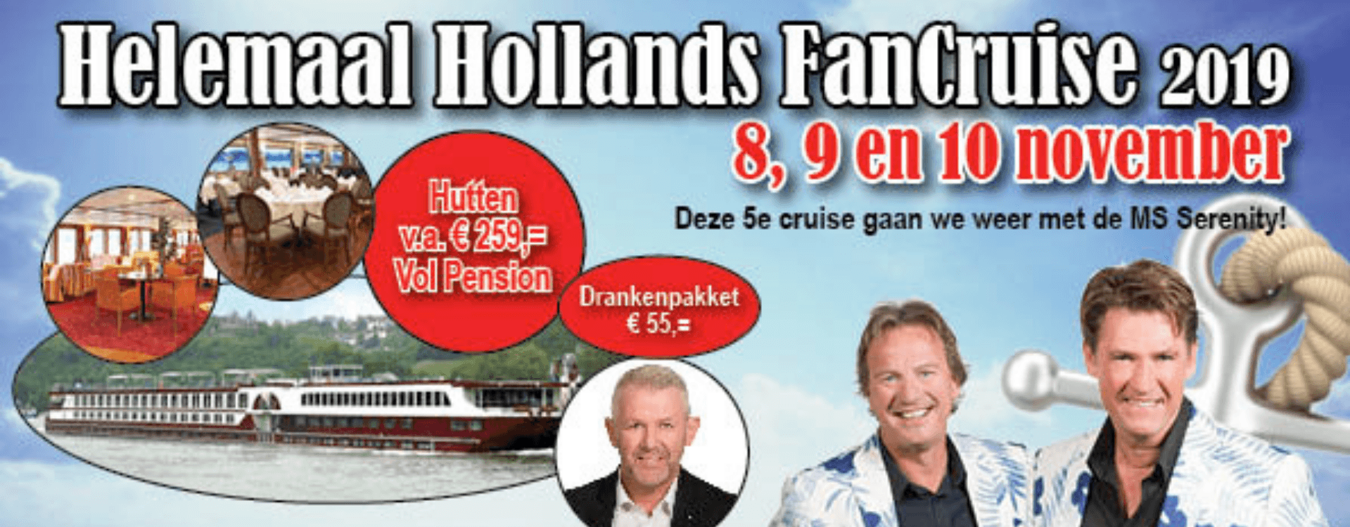 Helemaal Hollands Fancruise - Banner Serenity 2019